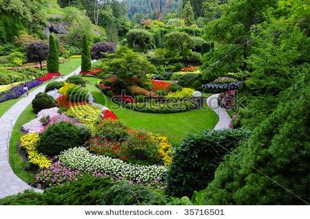 Butchart Garden, Victoria Island, Canada - Stunning, simply stunning beauty!