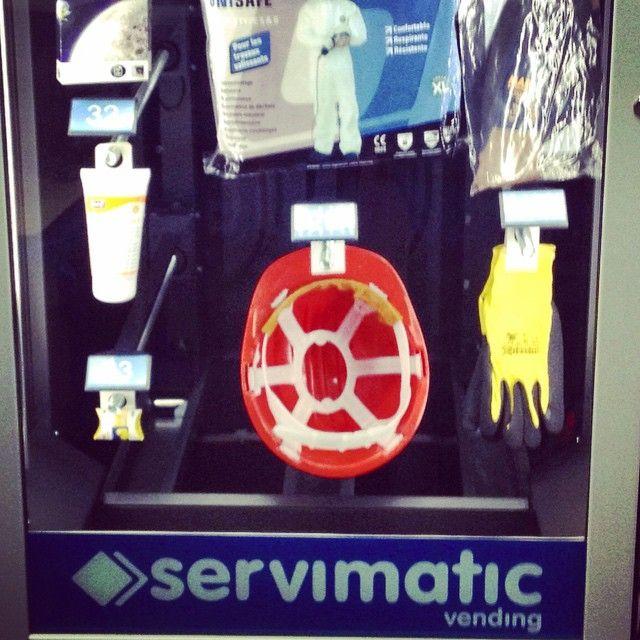 Máquinas vending dispensadoras de #EPIS (Equipos de Proteccion Individual) #Vending #prl