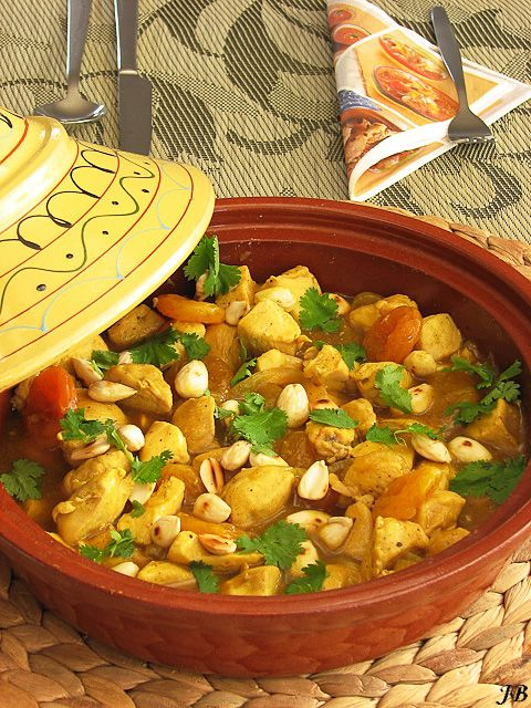 Spicey tajine, dutch written recipe
