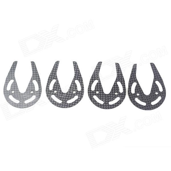 Carbon Fiber RC Motor Protection Ring Set for Parrot AR Drone 1.0/2.0 (4 PCS). Material: carbon fiber Thickness: 1.5mm Protect the motor of AR Drone quadcopter Fit for Parrot AR Drone 1.0 and 2.0. Tags: #Hobbies #Toys #R/C #Toys #Other #Accessories