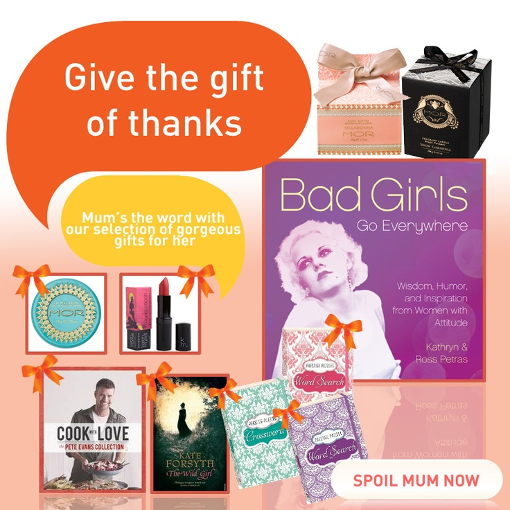 Mothers Day - Give the gift of thanks #mothersday #mother #gifts #giftideas #mum