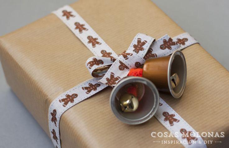 DIY Campanillas con cápsulas de café recicladas / DIY Bells with recycled Coffee capsules
