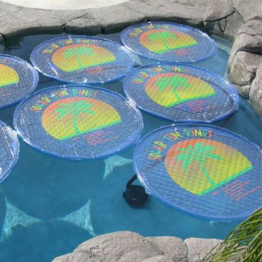 Solar Sun Rings may be used on ALL chlorine or salt water pools in above ground AND inground swimming pools! Score!