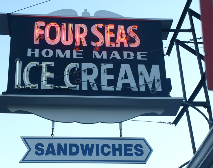 Four Seas Ice  in Centerville, MA - a trip to Cape Cod is not complete without a visit here!