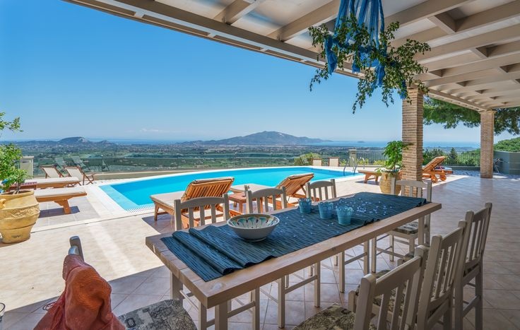 Castelli Luxury Villa with Magnificent Views in Zakynthos Island Greece