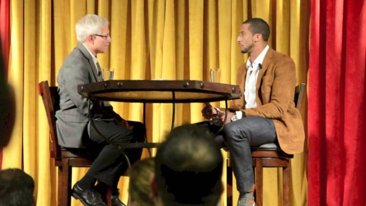 Colin Kaepernick Unplugged: On religion and his job Colin Kaepernick today May 2 at the Turlock Mayor's prayer breakfast where he was given the key to the city.