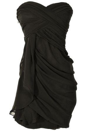 Dreaming of You Chiffon Drape Dress