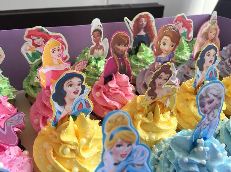 #Princess #minicupcakes #HappyBirthday!!!!!