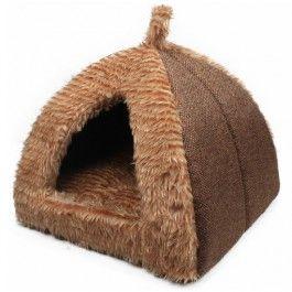 Ligmandje bruin Starline. Heerlijke zachte ligmand voor kleine honden of katten. Hele mooie stof.