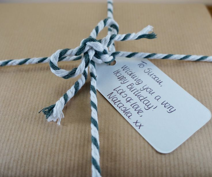 We can add a hand written personalised birthday message #birthday #present