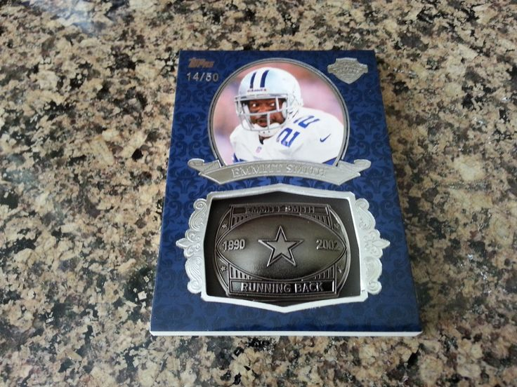 2013 Topps EMMITT SMITH Gridiron Legends RING SSP SILVER 14/50 COWBOYS