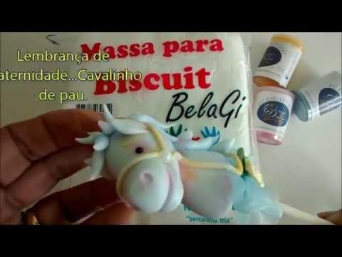 Diy - Lembrança maternidade - Cavalinho de pau