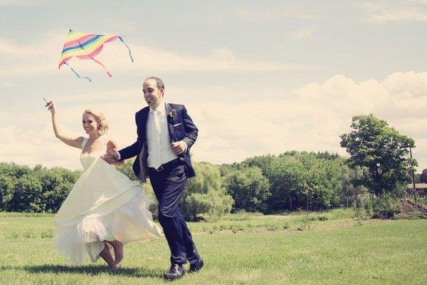 A fun pastel vintage wedding on weddingbells