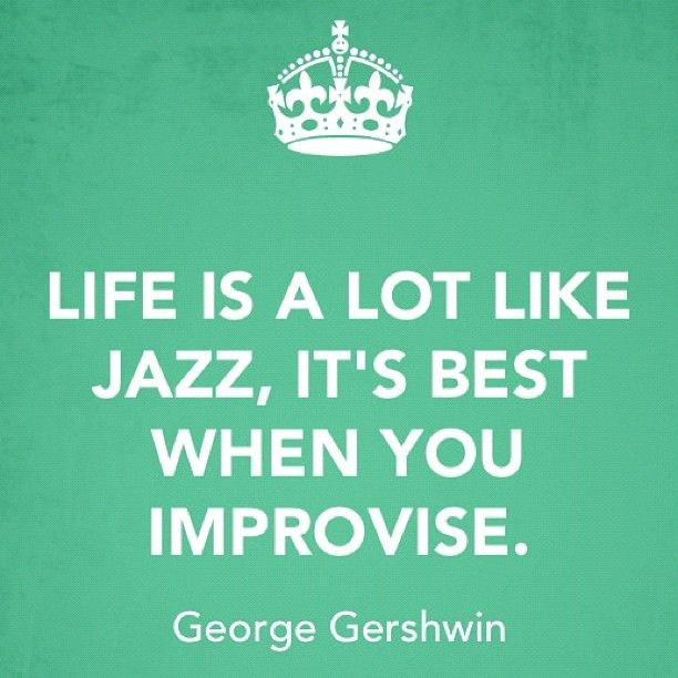 George Gershwin had it right :)
