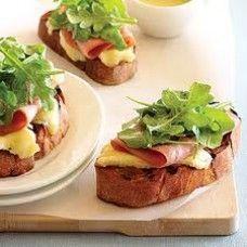 Рецепт приготовления завтрака с бутербродами