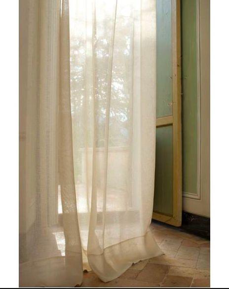 17 mejores ideas sobre cortinas de lino en pinterest - Cortinas de gasa ...