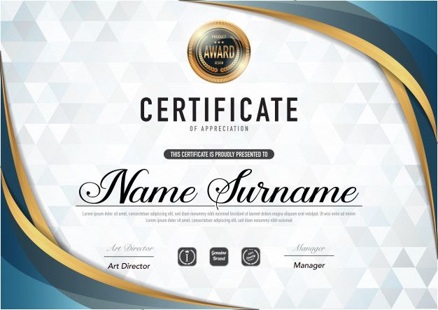 Certificate Template Luxury And Diploma Style Certificate Templates Certificate Design Template Certificate Design