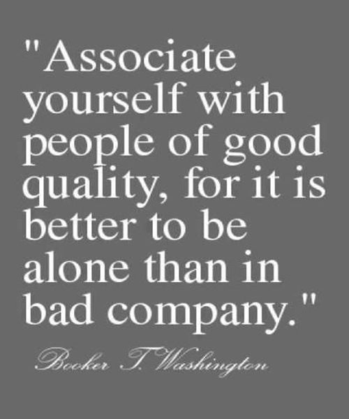 Bad Company - Best Friendship Quote