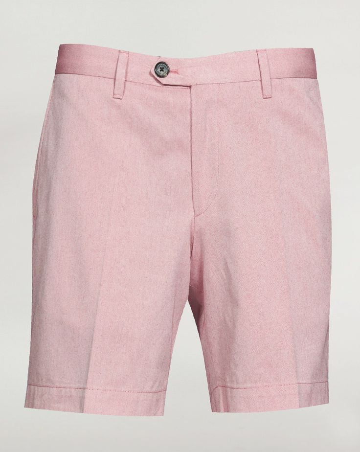 GIEVES AND HAWKES — Red Cotton Twill Short