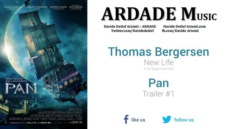Pan - Trailer 1 Music 3 (Two Steps From Hell - New Life)