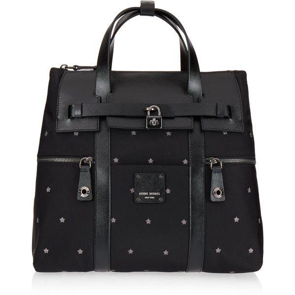 Henri Bendel Jetsetter Star Embroidered Backpack (…