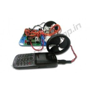 Mobile Controlled Robot (DIY) Product Code: RS-3012 Availability: In Stock Price: Rs. 2,000.00  http://www.roboshop.in/robotic-kits-with-tutorials/mobile-controlled-robot%20-diy