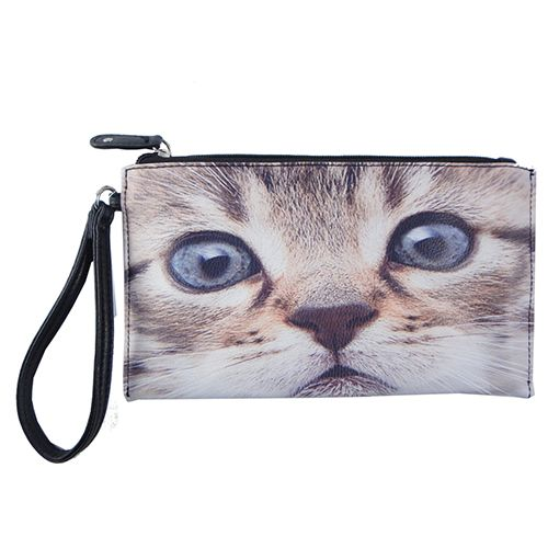 Chateau Photo Reel Wristlet - Cats