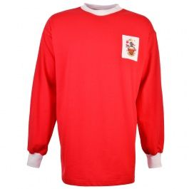 Crewe Alexandra 1960-63 Kids Retro Football Shirt Crewe Alexandra 1960-63 Kids Retro Football ShirtThis shirt was worn in the Railwaymens first ever promotion of 1963 and a shock 2-1 win away to Chelsea in the 1961 FA Cup. http://www.MightGet.com/may-2017-1/crewe-alexandra-1960-63-kids-retro-football-shirt.asp