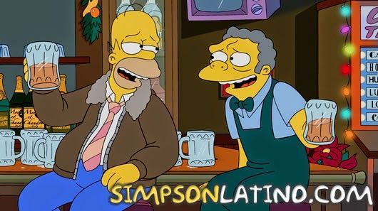 Ver Los Simpson 26x09 - I Won't Be Home for Christmas - Subtitulado
