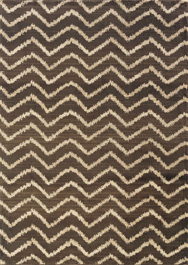 Sphinx Brown Chevron Rug At Soutlet