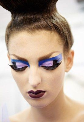 © Thibaut de Saint Chamas - Maquillage backstage : défilé dior - Maquillage défilé dior