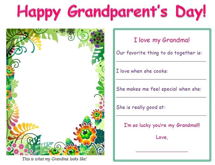 Grandparents Day Poems - WOW.com - Image Results