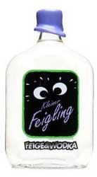 """Kleiner Feigling Fig Vodka Liqueur  Kleiner Feigling is a sweetened, """"fig vodka liqueur"""" first launched in Germany in 1992. It starts its life as a classic, charcoal filtered vodka and later infused with Mediterranean figs. They suggest drinking it """"straight from the bottle."""" - See more at: http://www.proof66.com/liqueur/kleiner-feigling-fig-vodka-liqueur.html#sthash.HIzsZ6JH.dpuf"""