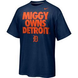 Miguel Cabrera Navy Nike #24 Detroit Tigers Miggy Owns Detroit. Player T-Shirt  http://www.fansedge.com/Miguel-Cabrera-Navy-Nike-24-Detroit-Tigers-Miggy-Owns-Detroit-Player-T-Shirt-_-2064257490_PD.html?social=pinterest_pfid28-62003