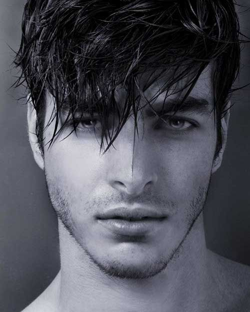 10 Guys with Messy Hair   Mens Hairstyles 2014