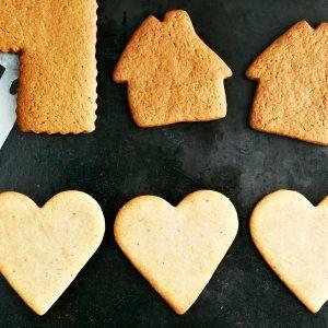 Vaaleat piparit / Gingerbread /Kotiliesi.fi / Kuva/Photo: Jorma Marstio/Otavamedia