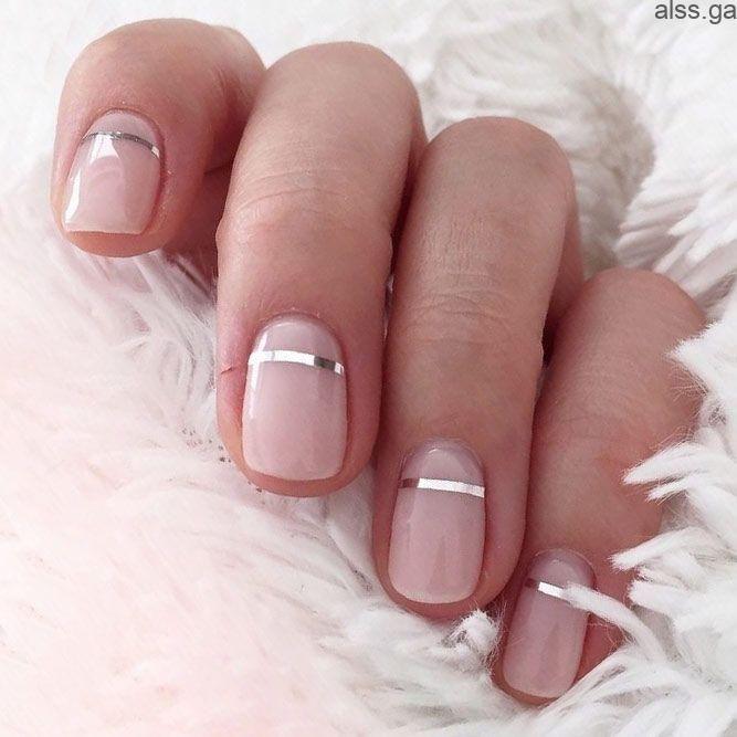 Einfache Nageldesigns für kurze Nägel, die Sie sofort ausprobieren können ★ Weitere Informationen: naildesignsjour… – Alls