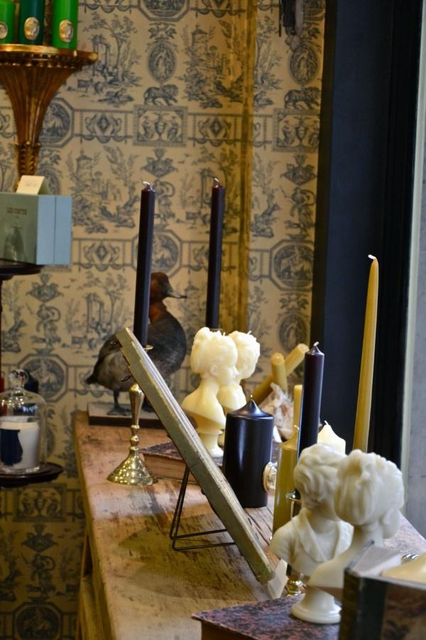 Cire Trudon's store in Paris