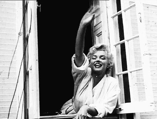 Marilyn Monroe Window.gif