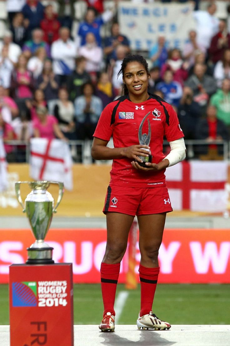 Congratulations to Magali Harvey, named IRB Women's Rugby Player of the Year! #GoCanada #BestWay2Play