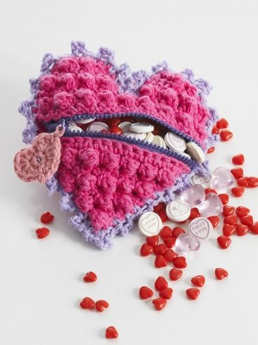 Heart Shaped Candy Bag~ pattern