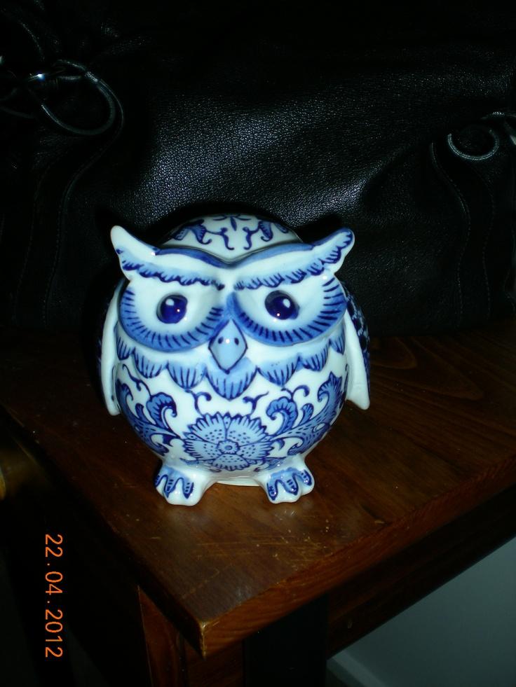 porcelene owl