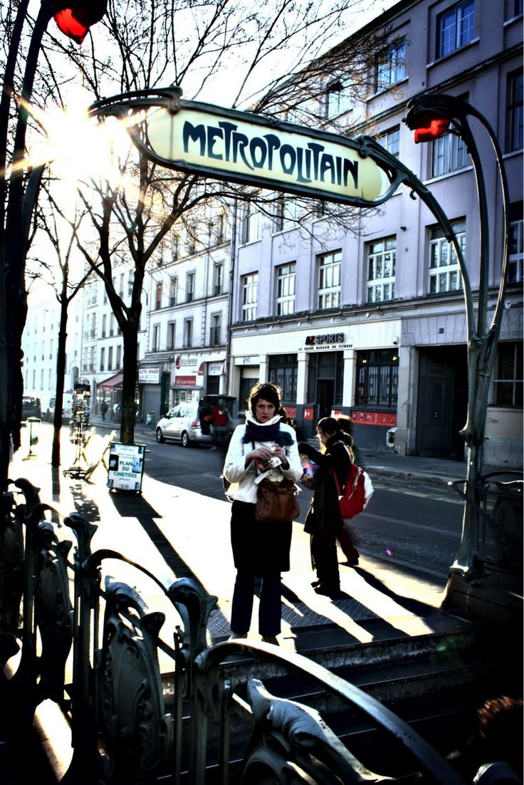 project:PARIS METRO Location:Paris, France designer:Hector Guimard date:1898-1901