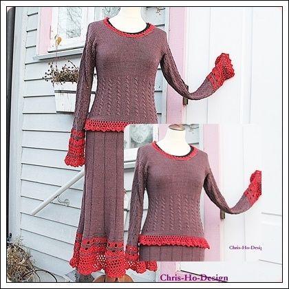 Oppskrift på kjole