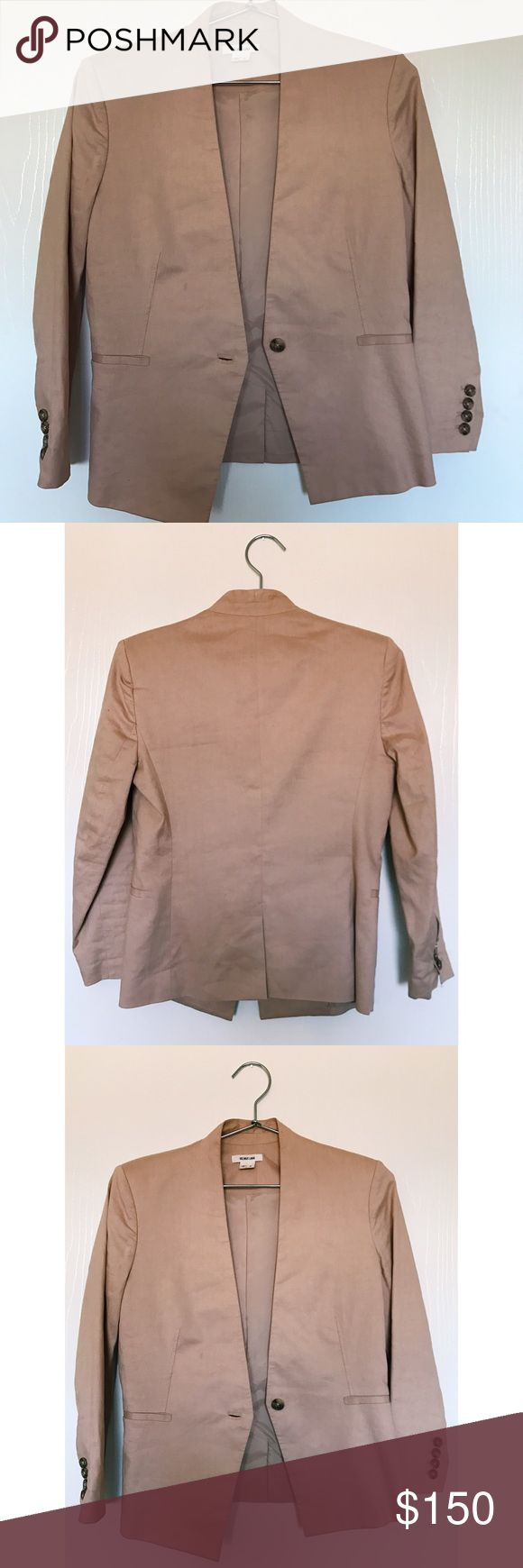 Helmut Lang Blazer Dusty Pink Helmut Lang Blazer Helmut Lang Jackets & Coats Blazers