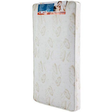 """Dream On Me, Twilight 5"""" 80 Coil Spring Crib And Toddler Bed Mattress, Choose Your Color, Beige"""