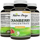 Cranberry Concentrate Pills ? Urinary Tract Health Support and Kidney Cleanse