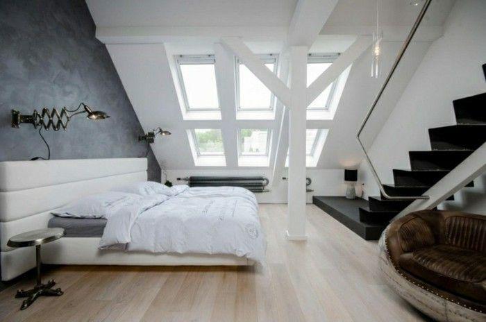 Bedroom Slope 33 Ideen Fur Den Schlafbereich Auf Dem Dach