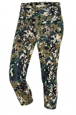 Leggings Amni Print Green Camo | Brasilfit South Africa | Style IQ 2013