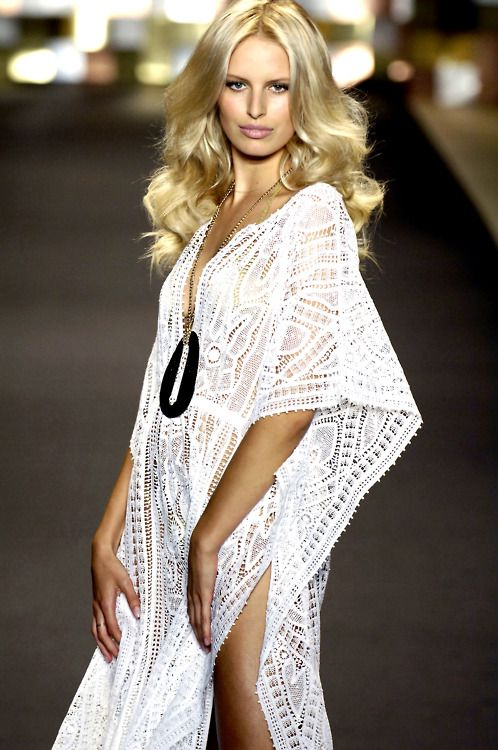 White #lace cover-up